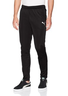 PUMA Men's Liga Training Pants Black White XL