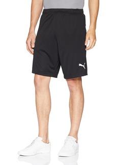 PUMA Men's Liga Training Shorts Black White S