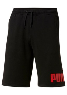 Puma Men's Logo Fleece Shorts