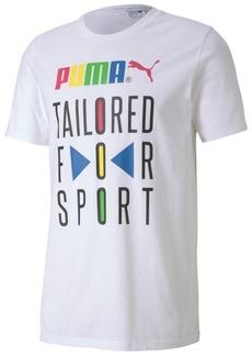 Puma Men's Logo-Graphic T-Shirt