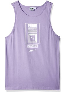 PUMA Men's Logo Tower Tank Top  L