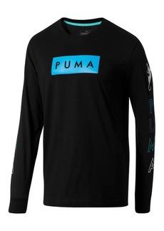 Puma Men's Long-Sleeve Graphic T-Shirt