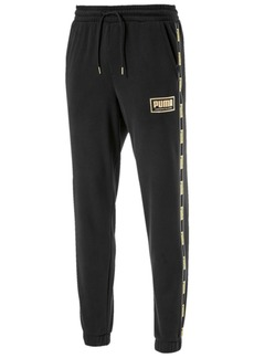 Puma Men's Metallic-Logo Pants
