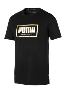 Puma Men's Metallic-Logo T-Shirt