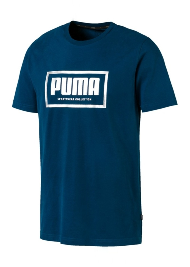 Puma Men's Metallic-Logo T-Shirt