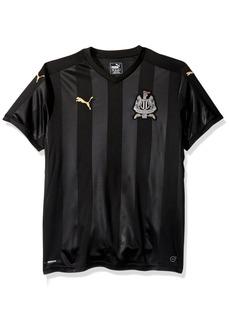 PUMA Men's Newcastle Third Replica Shirt With Sponsor Logo Black