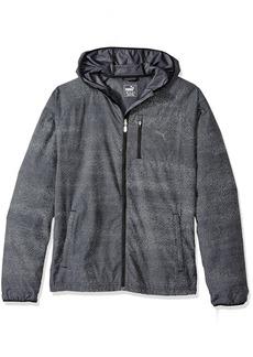 PUMA Men's Nightcat Jacket Black Heather