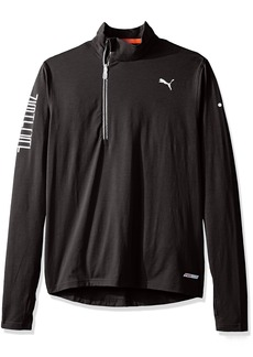 PUMA Men's Nightcat Pwrwarm Top Black