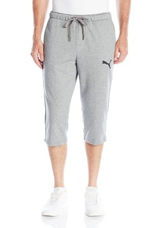 PUMA Men's P48 Core 3/4 Pants French Terry