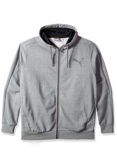 PUMA Men's P48 Core Full Zip Fleece Hoodie  3XL