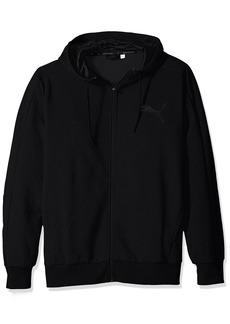 PUMA Men's P48 Core Full Zip Hoody Fleece