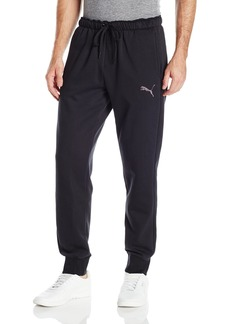 PUMA Men's P48 Core Pants Fleece Cuffed Bottom Puma