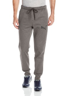 PUMA Men's P48 Core Tec Pants Fleece Closed Bottom  L