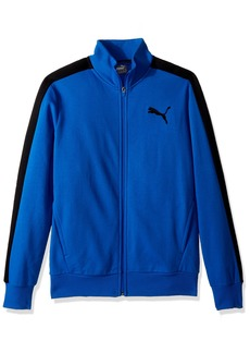 PUMA Men's P48 Core Track Embroidered Jacket Blue L