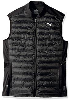 PUMA Men's Padded Vest Black