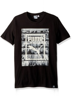 PUMA Men's Photoprint Shoes T-Shirt  M