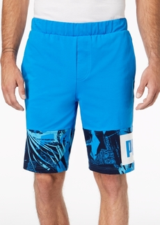 Puma Men's Rebel Colorblocked French Terry Shorts