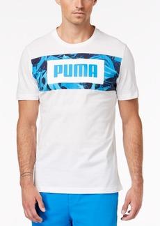 Puma Men's Rebel Printed-Logo T-Shirt