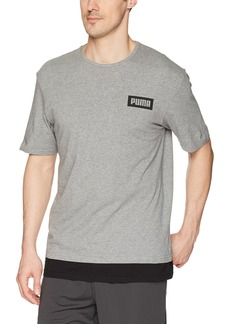 PUMA Men's Rebel T-Shirt  S