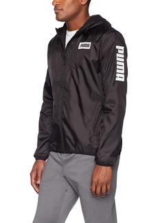 PUMA Men's Rebel Windbreaker Black XL