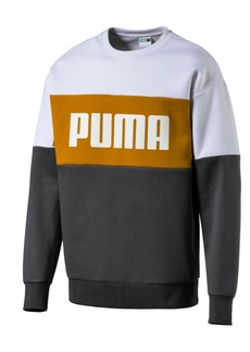 Puma Men's Relaxed Colorblocked Sweatshirt