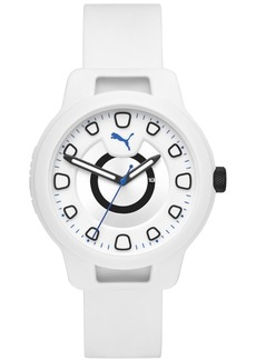 Puma Men's Reset Silicone Strap Watch 44mm