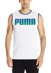 PUMA Men's Running Logo Tank  XXX-Large