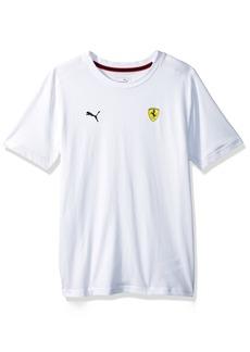 PUMA Men's Scuderia Ferrari  Shield T-Shirt White S