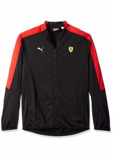 PUMA Men's Scuderia Ferrari T7 Track Jacket F Black XXL