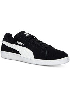 Puma Men's Smash Suede Leather Casual Sneakers from Finish Line
