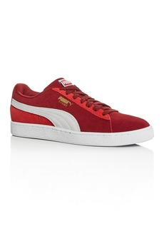 PUMA Men's Suede Classic Low-Top Sneakers
