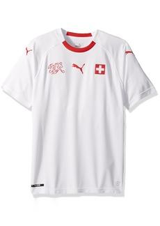 PUMA Men's Suisse Shirt Replica Away White red XL