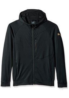 PUMA Men's Tech Fleece Full Zip Jacket  M