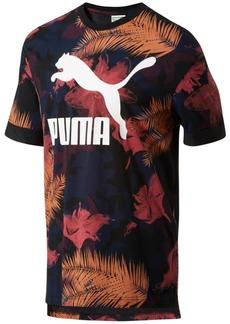 Puma Men's Tropical-Print T-Shirt