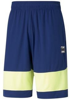 Puma Men's Ultimate Regular-Fit Moisture-Wicking Colorblocked Shorts