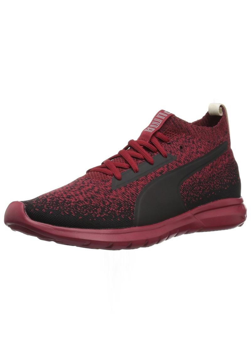 Puma PUMA Men s Vigor Evoknit FS Sneaker red Dahlia Black  171b5201b