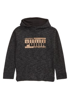 PUMA Metallic Logo Hooded Sweatshirt (Toddler Boys & Little Boys)