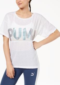 Puma Metallic Logo Relaxed T-Shirt