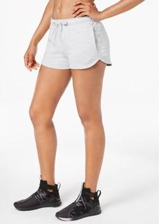Puma Metallic-Logo Terry Shorts