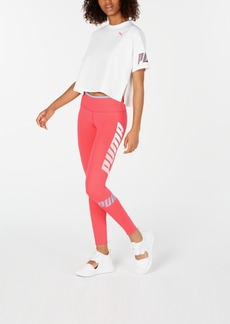 Puma Modern Sports Cropped Sweat T-Shirt