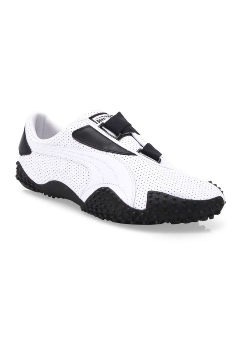 a629f207f300ba Puma PUMA Mostro Perforated Leather Sneakers