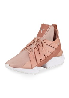 Puma Muse Echo Satin Sneakers