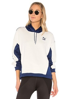 Puma Oversized Hoodie in Blue. - size L (also in XS,S,M)