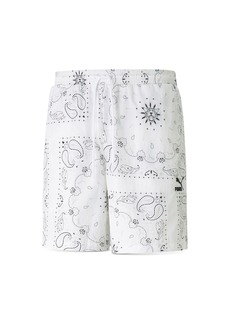 PUMA Paisley Woven Shorts