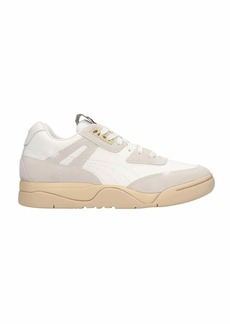 Puma Palace Guard Sneakers In White Suede And Leather