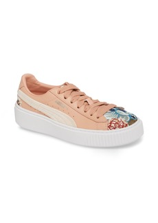 PUMA Platform Hyper Embroidered Sneaker (Women)