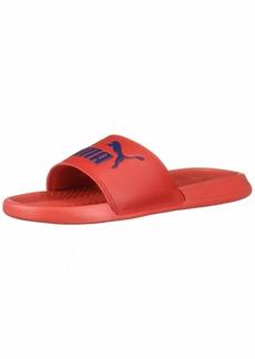 PUMA Popcat Slide Sandal High Risk Red-Peacoat  M US