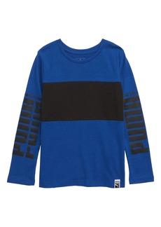 PUMA Rebel Colorblock T-Shirt (Toddler Boys)