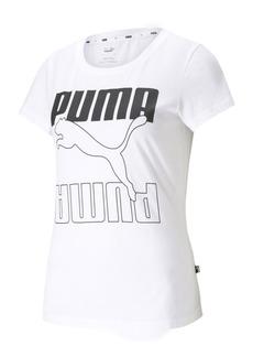Puma Women's Rebel Cotton Logo T-Shirt