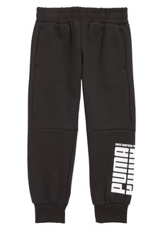 PUMA Rebel Fleece Jogger Sweatpants (Toddler Boys)